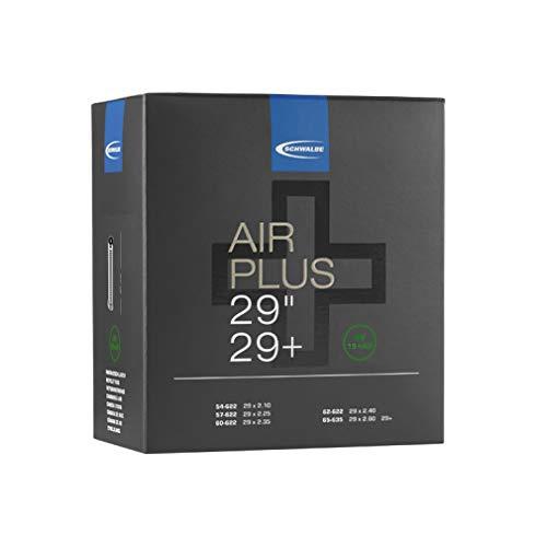 Schwalbe Air Plus Fahrradschlauch, schwarz, Einheitsgröße