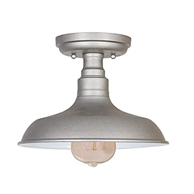 Design House 519876 Kimball, Ceiling Light, Galvanized