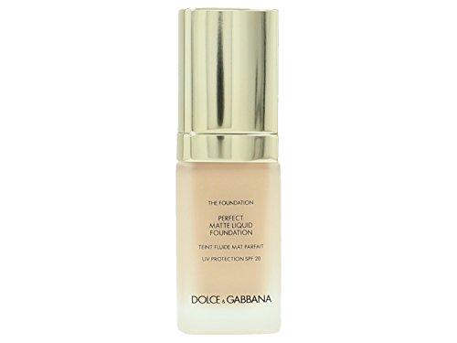 Dolce & Gabbana - The Foundation - Perfect Matte Liquid Foundation No.110 Caramel - Fondo de maquillaje - 30 ml