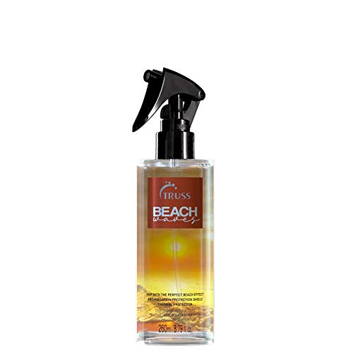 TRUSS Beach Waves - Texturizing Styling Spray for Hair To Achieve The Perfect Natural Beach Wave Effect - Beach Wave Spray For For All Hair Types