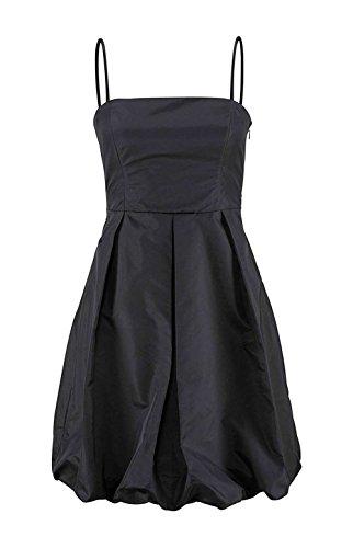 Bruno Banani Kleid Abendkleid Ballonkleid schwarz (38, schwarz)