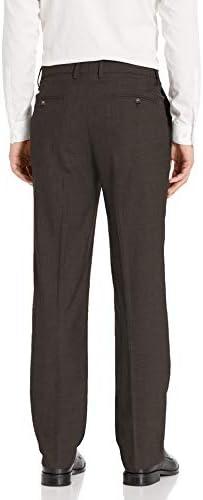 Haggar Mens B/&T Stria Tic Stretch Classic Fit Suit Separate Pant,Dark Grey,54X32