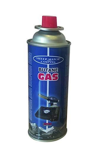 X24 Bomboletta a gas cartuccia butano 220gr ricarica fornello campeggio tenda