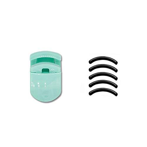 1 pc portable Mini bigoudis cils avec tampon en caoutchouc de remplacement pour cosmétique outil de maquillage