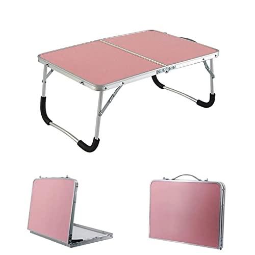 Escritorio Plegable de Aluminio Escritorio para computadora portátil Portátil para Acampar al Aire Libre Picnic Mesa Plegable Mesa para computadora Prueba Duradera al Agua Ultraligero - a5, Plateado