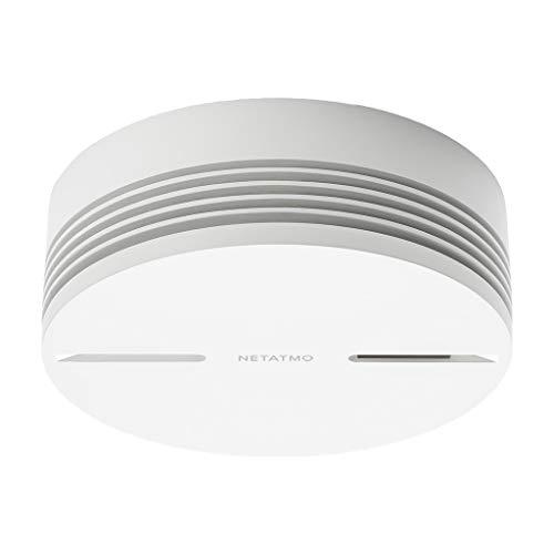Netatmo NA-NSA-EC Detector De Humo Inteligente, Blanco