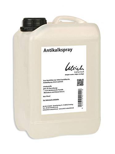 Antikalkspray flüssig 5 l - Ulrich natürlich