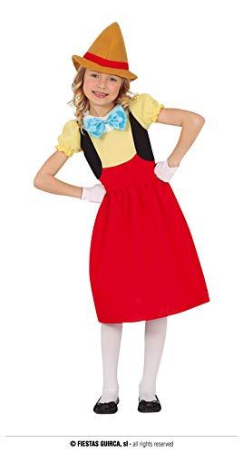 FIESTAS GUIRCA Disfraz de marioneta para niña de 5 a 6 años