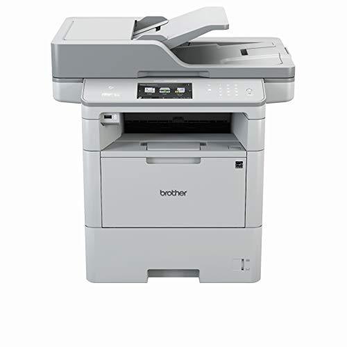 Brother MFC-L6900DW A4 MFP mono Laserdrucker (46 Seiten/Min., Drucken, scannen, kopieren, faxen, 1.200 x 1.200 dpi, Print AirBag für 750.000 Seiten)