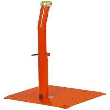 Schneider XY2SB90 Säulenfuß, Metall mit einstellbarer Höhe, orange, für Preventa Xy2 SB