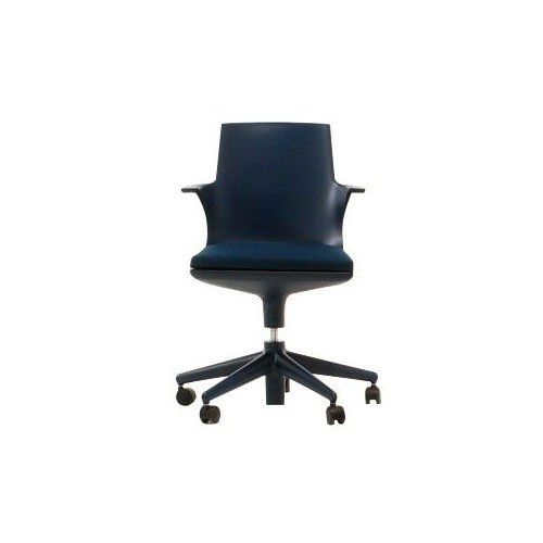 Kartell 481904 Stuhl Spoon Chair blau-blau