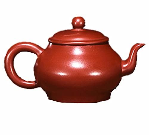 Tetera Juego De Té Teapot Tetera De Té Tea Kettle Clay Púrpura Tetera China Hecho A Mano Zisha Clay Pot Beber Tea Pequeña Lámpara Mágica Beber Pot