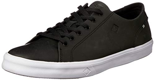 Sperry Black Leather Shoes for Men