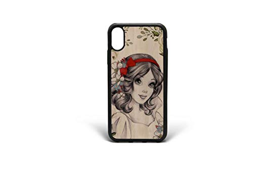 Kaidan Snow White case for iPhone 6 iPhone X XS Max Princess iPhone XR Cases for Girls 7 8 Plus 5/5s/SE Google Pixel XL Floral Princess Samsung Galaxy S9 Case S8 Plus Note 9 8 S10 Lite S10E apPD124