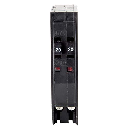 Square D Tandem Circuit Breaker 20/20 Amp Bulk