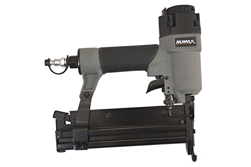 NuMax S2-118G2 18-Gauge 2 In 1 Brad Nailer and Stapler Ergonomic & Lightweight Pneumatic Combo Brad & Staple Gun with Depth Adjust