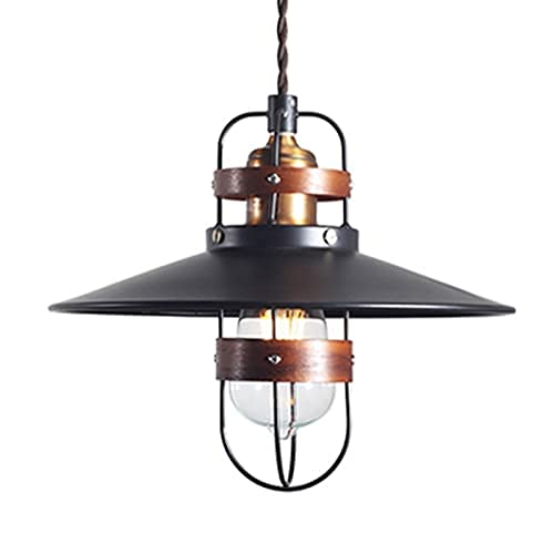Jaula de metal araña gótica barroca rococo punk techo colgante luz americano rústico industria colgante muebles hierro arte círculo clavos de madera linterna lámpara de cable para sofá dormitorio