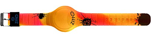 Orologio digitale ZITTO FLUO in silicone multicolor CAMOYELLOW-MAX-GJ