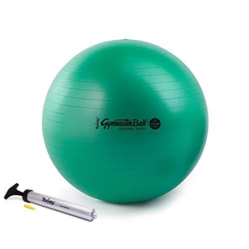 Pezzi Ball Maxafe 65 cm grün inkl. Original Pezziball-Pumpe Gymnastikball Sitzball