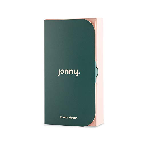Jonny. Lover's Dozen Premium Natural Condoms Vegan Condoms - 13 Count Condom, Sensitive, Strong, Ultra Thin with Extra Comfort. Includes Biodegradable Bags for Discreet and Easy Disposal