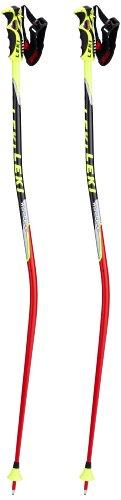 LEKI Erwachsene Skistock WC Racing-GS, Base Color: Neon Red/Design: Neon Yellow-Black-SIL-White-Anthr, 140 cm