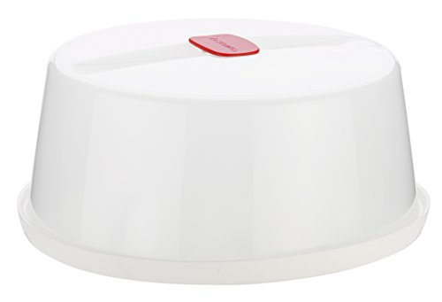 Tescoma Tapa Purity Microwave, Blanco, 24.7x24.7x10.6 cm