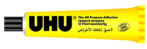 UHU - Pegamento multiusos en tubo, 60 ml