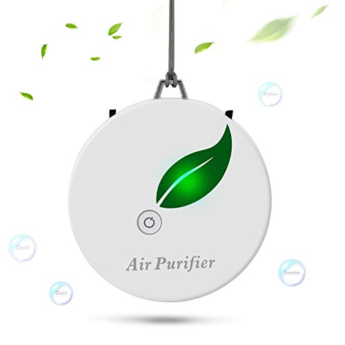 BLANDSTRS Portable Air Purifier Necklace Mini Personal Wearable Air Purifiers for Home Travel-Size...