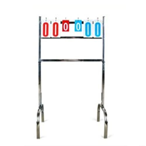 LiChaoWen Responsable de puntuación Deportiva Tablero de Indicadores de Baloncesto El Marcador El Marcador se Puede entregar sobre el Piso contando el Marcador. (Color : 1, Size : 96x60x34cm)