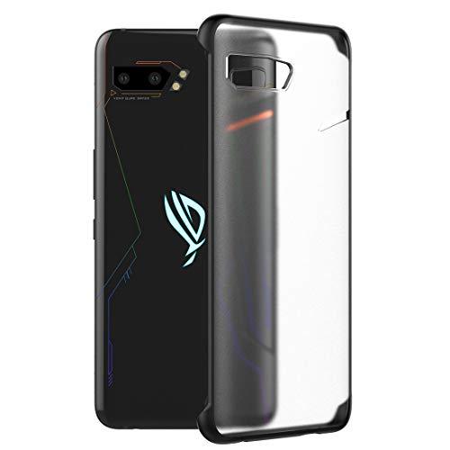 Eastco Rog Phone 2 Hülle, Rog Phone II Hülle, Verstärkte Ecken Schlankes, weiches Silikon TPU Dünne, stoßfeste Stoßstange Scrub Schutzhülle für ASUS Rog Phone 2 Hülle