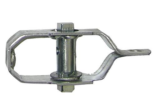 DOJA Industrial | Tensor de Alambre de Acero Galvanizado | PACK 10 | Tensores para malla de alambre, tela metalica, vallas, cable tensor, alambre galvanizado, emparrados, jardin entre otros usos.