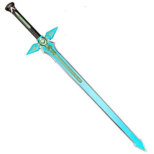 Foam Toy: SAO Kiritos Foam Sword Fantasy One Hand Foam Medieval Sword, Rapier for Cosplay, Gift, Collection (Dark Repulser)