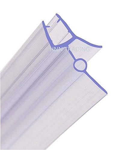 Junta para mampara de ducha de 6 a 8 mm, de HNNHOME, para cristal recto o curvado con separación de hasta 28 mm