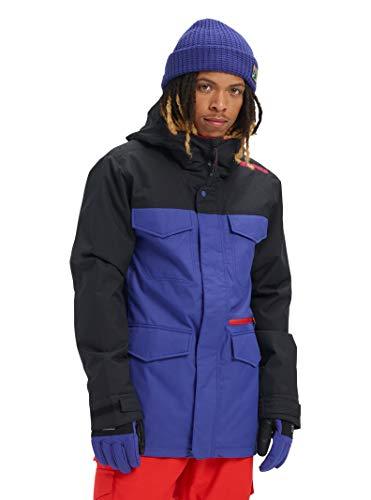 Burton Mens Covert Jacket Slim, Royal Blue/True Black, Medium