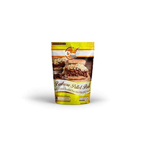 Comal Traditional Foods  Tasty and Flavorful BBQ pulled pork   Ready-to-eat   No Preservatives  8oz (Pack of 1)