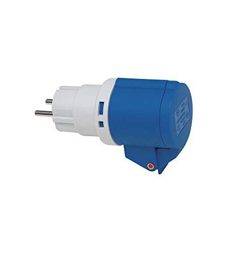 Adattatore Cee 2 Poli + T 16A/230V con Spina Cee