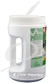 Shake-Away All Natural Deer & Large Animal Repellent (Coyote Urine Granules) 4 LB (Pound) Size - Not 5 Lb
