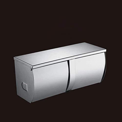 DXX-HR Simple Rectángulo 304 Acero Inoxidable Rollo Titular Aseos Papel Toallas Titular Baño Hardware Accesorios de Cocina Rollos Dispensadores