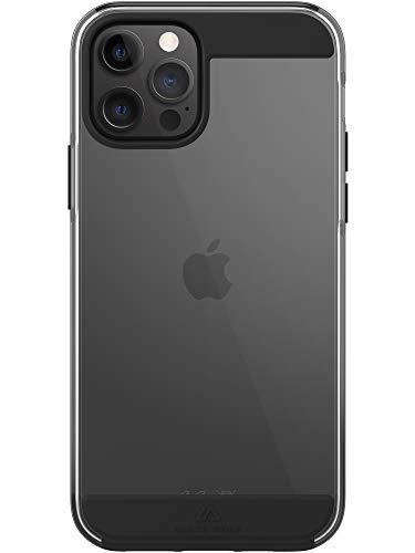 Black Rock - Hülle Air Robust Hülle passend für Apple iPhone 12/12 Pro | Handyhülle, Transparent, Durchsichtig, Dünn (Schwarz)