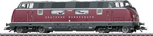 Märklin 37806 Klassiker Modelleisenbahn Diesellokomotive Baureihe V 200.0, Spur H0
