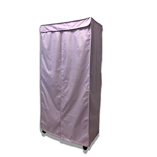 Formosa Covers Portable Garment Rolling Rack Cover - Protect Your Clothes from Dust Keep Your Room Looking Organized in Lilac Purple (Cover Only) (36