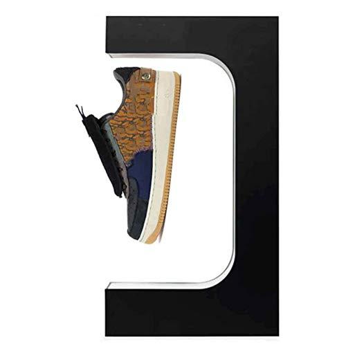 MKULOUS Zapatos De Levitación Magnética Soporte De Exhibición De Zapatos De Levitación 360 ° Giratorio, Zapatos De Levitación Magnética Peso 300-600G