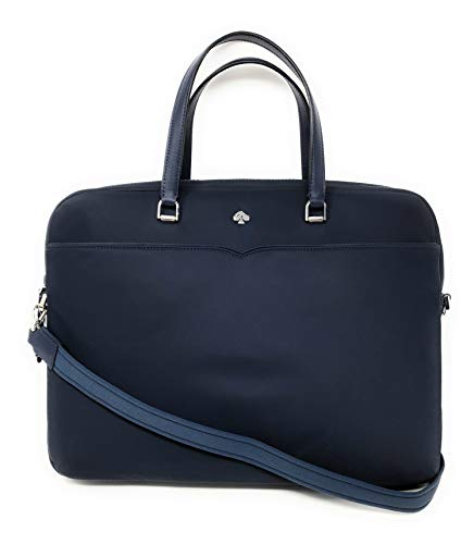 Kate Spade New York Jae Nylon Laptop Shoulder Bag Handbag in Night Cap