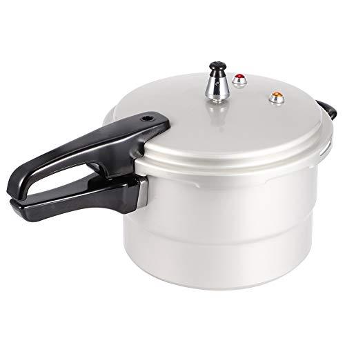 Nannigr Olla A Presión De Aleación De Aluminio De 5L, Enlatadora A Presión De 70 Kpa Conveniente Y Segura con Capa De Vapor para Cocinar para Utensilios De Cocina(22cm (Gas, Gas))