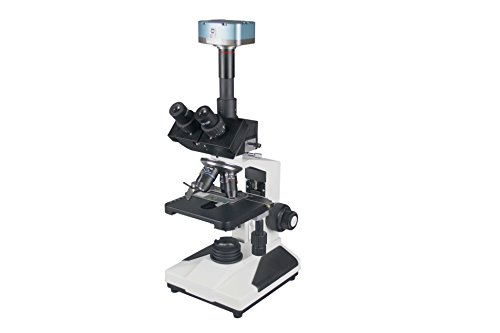 Radical 2500x Professional Research Clinical Doctor Trinocular LED Microscope w Plan Objectives and 16 Mpix Scientific Camera