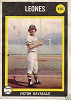 1973 Made in Venezuela Stickers (Baseball) Card# 136 victor ...
