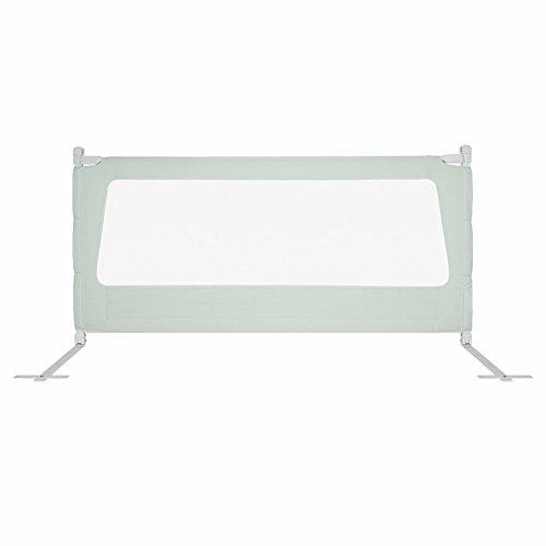 FCXBQ Garde-Corps de lit Portable et Stable Baby Guard Easy Fit pour Tout-Petits/Enfants/Enfants, Grand 150-200 cm, Vert (Taille: 1,2 m)