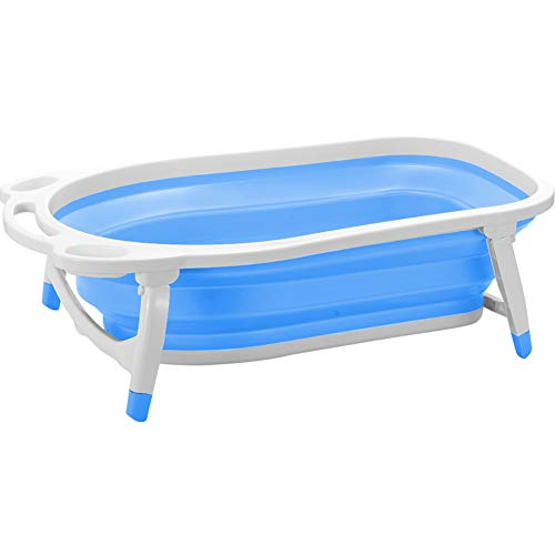 Creation Core Foldable Pet Dog Cat Grooming Washing Bathtub(Blue)