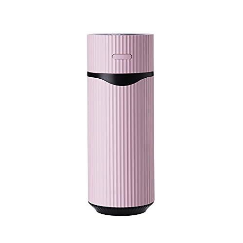 Umidificatore ad ultrasuoni, depuratore d'Aria Silenzioso con Luce Notturna, Dispositivo di Raffreddamento dell'Aria Auto con Due modalità di Nebbia Regolabili,Rosa