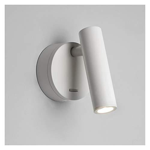NB YULUBAIHUO Montado en la Pared de la Pared Luz de Noche LED lámpara de Lectura Cubierta Habitación del Hotel Habitación con Cama Cabecera Libro Leer luz con el Interruptor